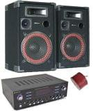 Sistema de sonido completo USB MP3 1400W - foto