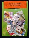 Lote 50 sellos diferentes de Euros - foto