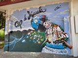 decoraciones a spray - foto