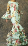 confeccion a medida trajes de flamenca - foto