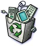 Reciclamos material informatico - foto