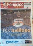 Periodico Inauguración Olimpiadas 1992 - foto