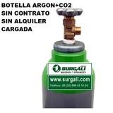 BOTELLA GAS ARGON  + CO2 NUEVA CARGADA - foto
