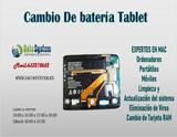 Cambio de batería tablet Madrid - foto