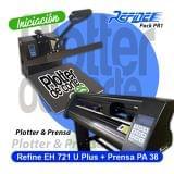 PACK PR1 DE REFINE PLOTTER PLUS Y PA38 - foto