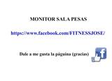 MONITOR SALA PESAS POLIDEPORTIVO - foto