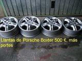 Llantas Porsche Boxter - foto