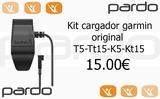 clip carga collares garmin t5 y tt15 - foto