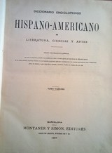 DICCIONARIO ENCICLOPÉDICO HISPANO-AMERIC - foto