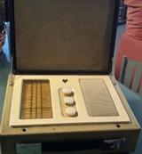 Radio maleta 1950 - foto