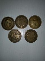 2,50 pesetas 1953  y de 1 peseta 1947 - foto