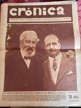Periódico Cronica ( año1930 ) - foto