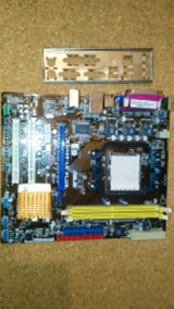 placa am2 asus m2n68-am plus - foto