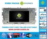 Radio dvd navegador ford focus mk2.5 - foto