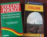 DICCIONARIO BOLSILLO + LIBRO FRASES ITAL - foto
