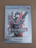 Metal Gear Solid 2 Sons Of Liberty Ps2 - foto
