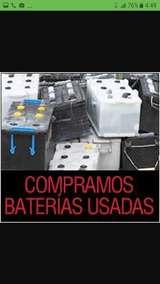 Compro  baterias  10 € todos tipo usadas - foto
