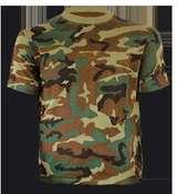 Ropa caza camiseta camuflaje - foto