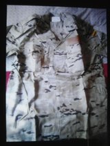 ropa de camuflaje .militar - foto