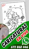 Caricaturista para eventos - foto