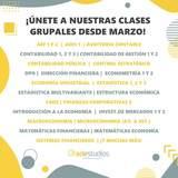 CLASES UNIVERSITARIAS ECONOMÍA - foto