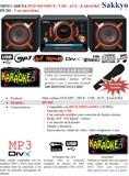 Mini cadena con dvd karaoke + MICROFONO - foto