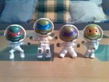4 tortugas ninja-6 paletas - foto