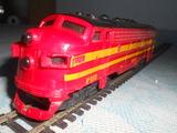 Locomotora diesel 5518 renfe ho paya - foto