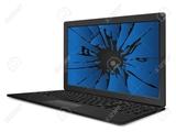 portátil averíado roto para piezas - foto