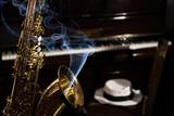 Saxofonista y pianista en vuestro cóctel - foto