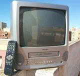 TV con video VHS Bush Combi - foto
