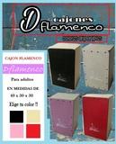 Cajones flamencos para adulto, afinable - foto