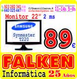 Monitor 22  Samsung Syncmaster - foto