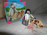 Playmobil Veterinaria Con Perro - foto