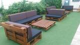Muebles con palets - foto