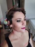 peluquera y maquilladora - foto