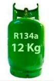 gas de refrigeración garrafas - foto