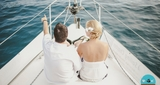 Aniversario de bodas en barco - foto