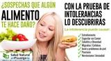 Test intolerancias alimentarias - foto