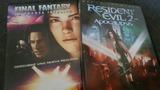 dvds resident evil y final fantasy - foto