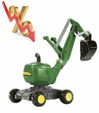 Excavadora juguete JOHN DEERE - foto