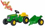 Tractor pedales JOHN DEERE con remolque - foto