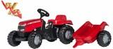 Tractor pedales MASSEY FERGUSON+remolque - foto
