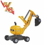 Excavadora juguete CATERPILLAR - foto