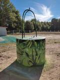Pintor graffiti - foto