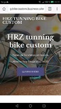 HRZ tunning bike custom - foto
