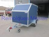 Remolque furgo tablero aerodinÁmico - foto