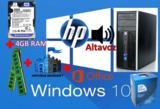 Hp compaq 6200 mt intel dual core w 10 - foto