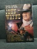 5 PELICULAS DVD DE JHON WAYNE (SIN USO)