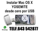 Usb instalaciÓn mac osx yosemite - foto